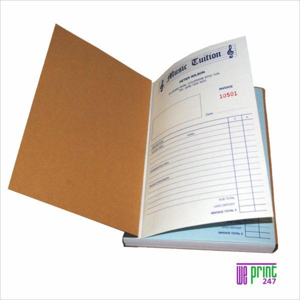 invoice books printing johannesburg