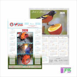 wall calendar printing johannesburg